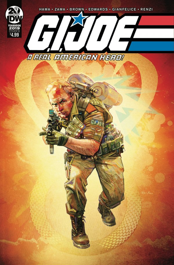Comic Review for week of March 6th, 2019 G. I. JOE A REAL AMERICAN HERO – YEARBOOK #1
