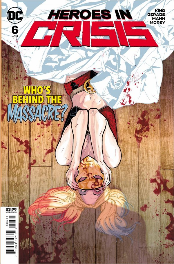 Comic Review for week of February 27th, 2019 HEROES IN CRISIS #6