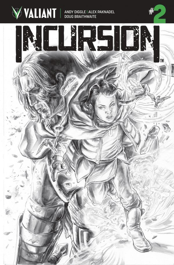 Comic Review for week of March 20th, 2019 INCURSION #2