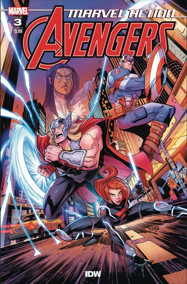 Comic Review for week of March 20th, 2019 MARVEL ACTION AVENGERS #3