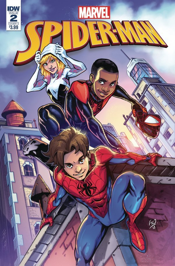 Comic Review for week of March 13th, 2019 MARVEL ACTION SPIDER-MAN #2