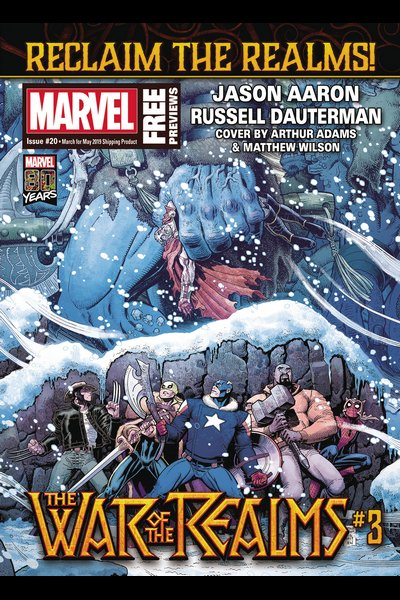 Comic Review for week of February 27th, 2019 MARVEL PREVIEWS #20