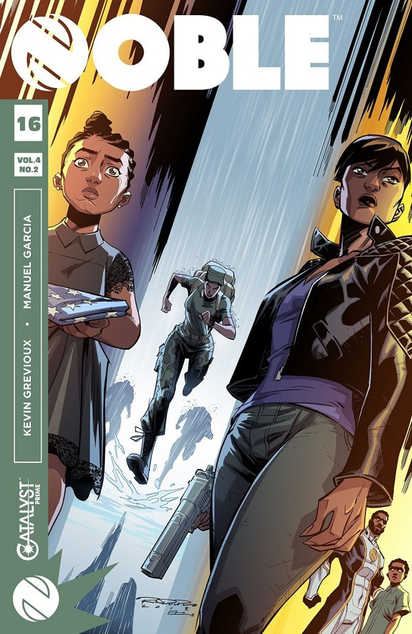 Comic Review for week of March 6th, 2019 NOBLE #16