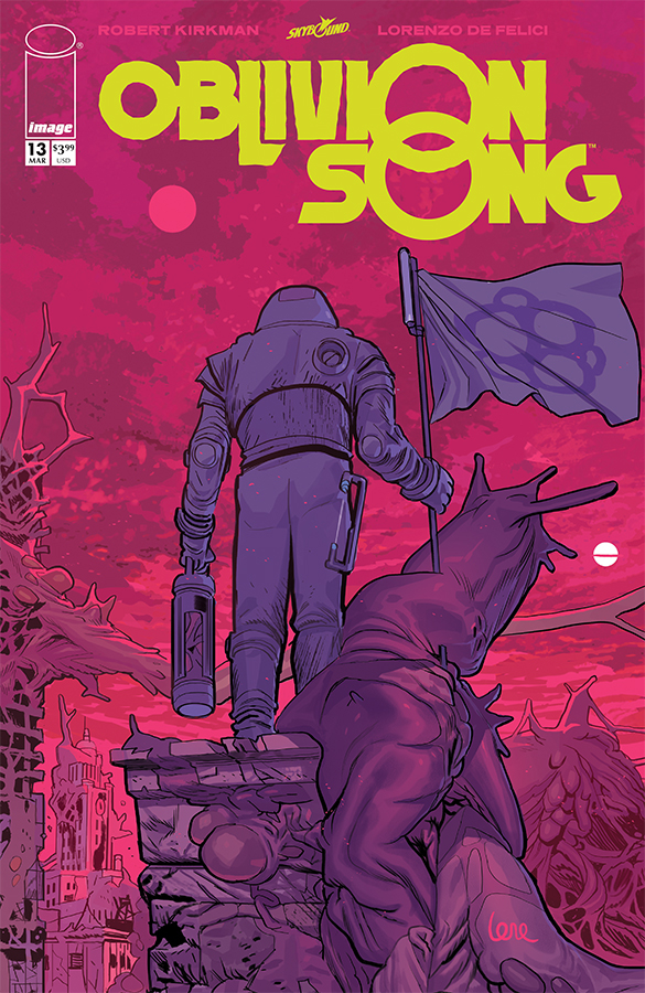 Comic Review for week of March 13th, 2019 OBLIVION SONG #13