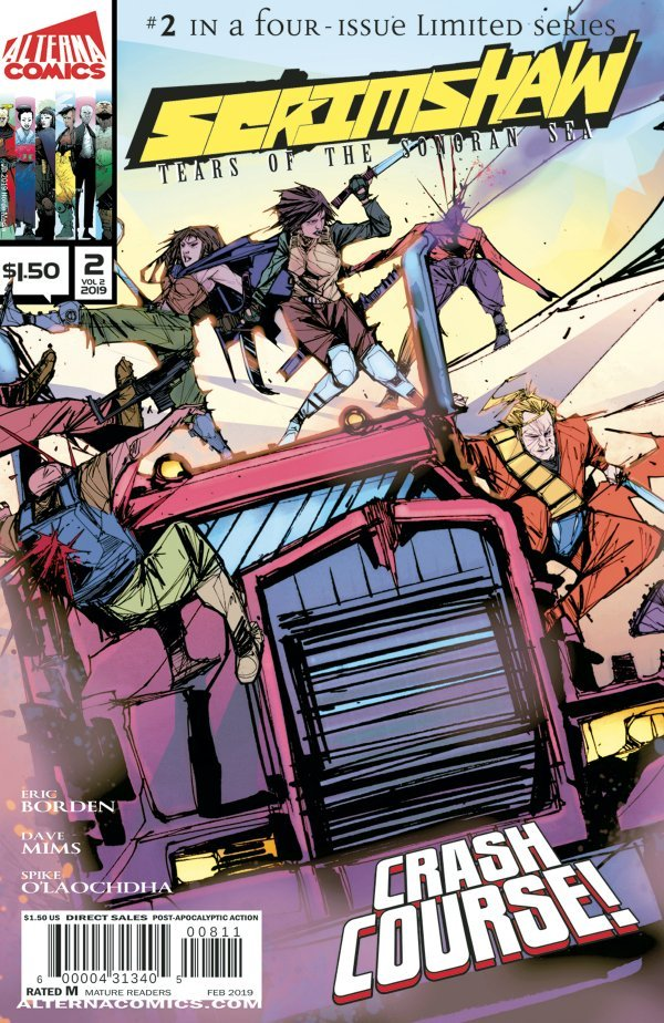 Comic Review for week of March 13th, 2019 SCRIMSHAW #2
