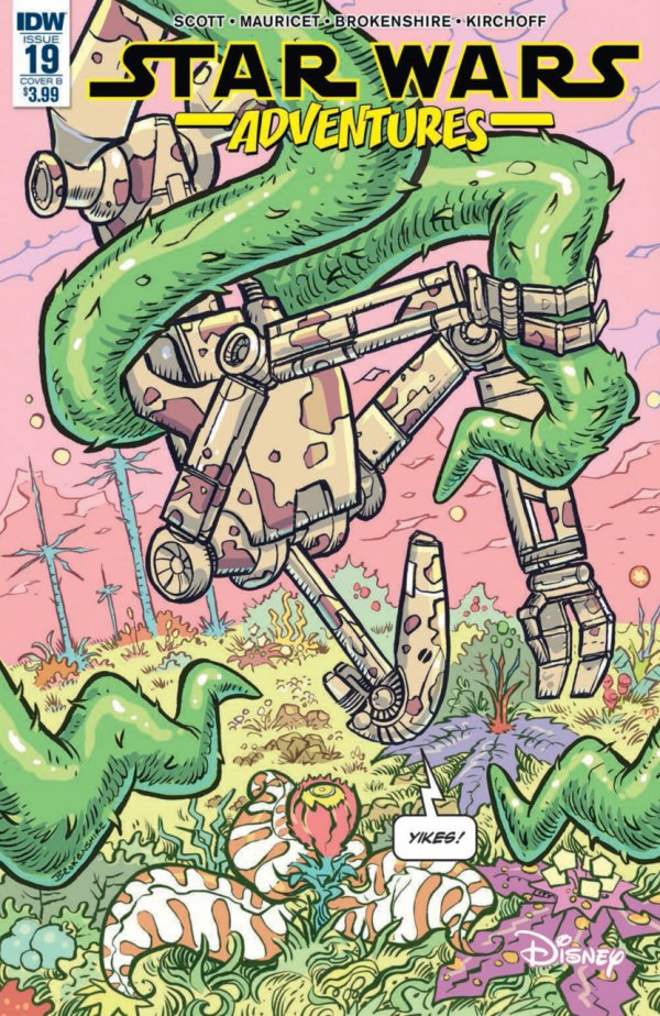 Comic Review for week of March 27th, 2019 STAR WARS ADVENTURES #19