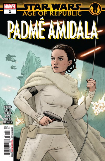 Comic Review for week of March 6th, 2019 STAR WARS AGE OF REPUBLIC – PADMÉ AMIDALA #1