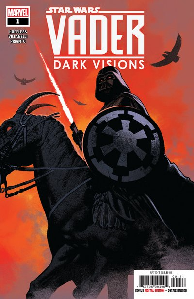 Comic Review for week of March 6th, 2019 STAR WARS VADER – DARK VISIONS #1