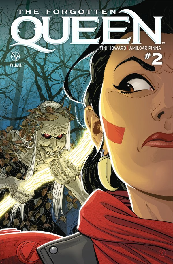 Comic Review for week of March 27th, 2019 THE FORGOTTEN QUEEN #2