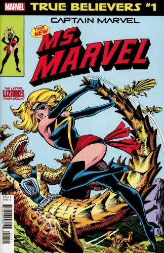 TRUE BELIEVERS CAPTAIN MARVEL NEW MS. MARVEL 1 324x500 Comic Review for week of February 27th, 2019