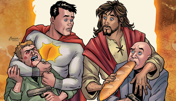 'Second Coming': Controversial Jesus Christ Comic Book Finds New Publisher 'Second Coming': Controversial Jesus Christ Comic Book Finds New Publisher