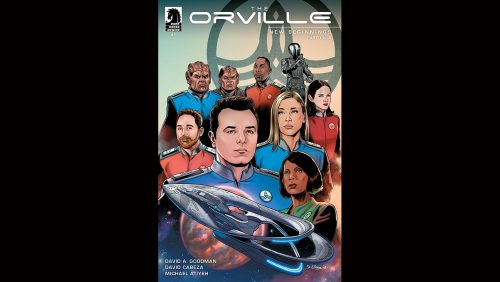 the orville publicity h 2019 500x282 Foxs The Orville Flies Into Comics This July
