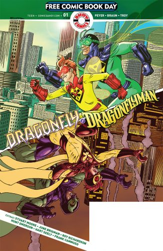 FCBD 2019 DRAGONFLY AND DRAGONFLYMAN 325x500 FCBD 2019 Dragonfly And Dragonflyman