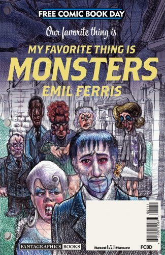 FCBD 2019 MY FAVORITE THING IS MONSTERS 325x500 FCBD 2019 My Favorite Thing Is Monsters