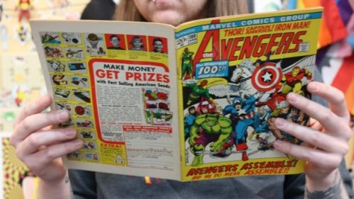avengers comic 500x281 Comic book boom is both good and evil for local business | CBC News