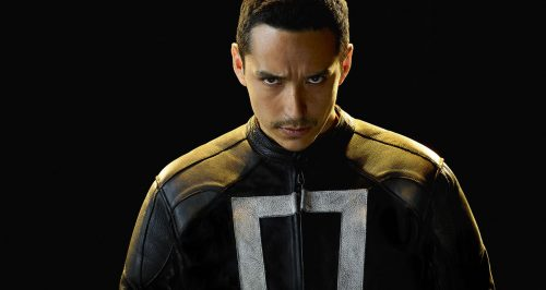 ghost rider shield robbie reyes 500x266 Live action Ghost Rider and Helstrom shows blazing onto Hulu next year