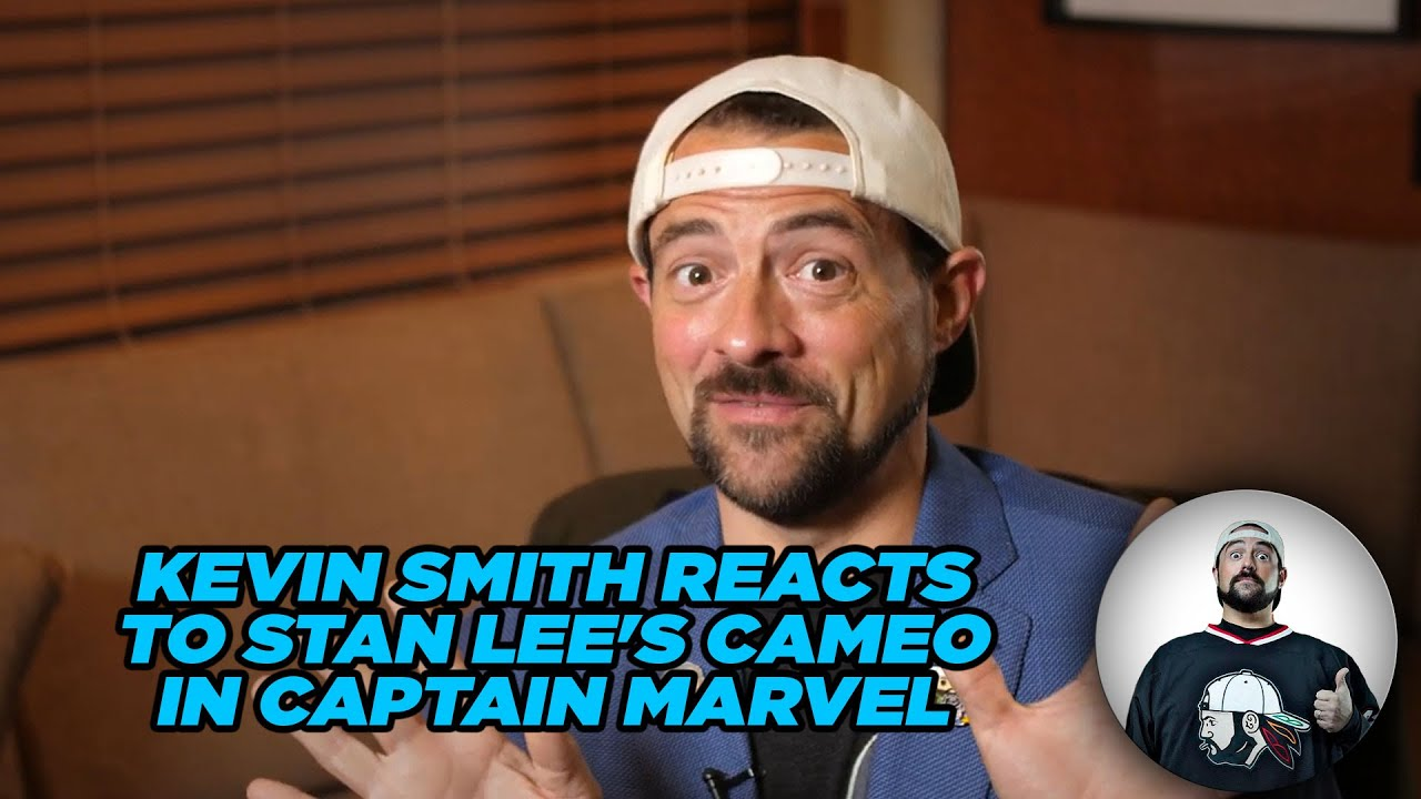 Kevin Smith Reacts to Stan Lee's Cameo in Captain Marvel Kevin Smith Reacts to Stan Lee's Cameo in Captain Marvel