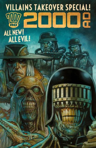 2000 AD VILLAINS TAKEOVER SPECIAL 1 324x500 Comic Book Review for May 8th, 2019