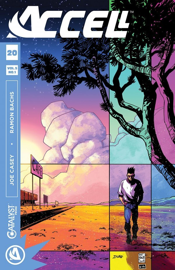 Comic Book Review for May 8th, 2019 ACCELL #20