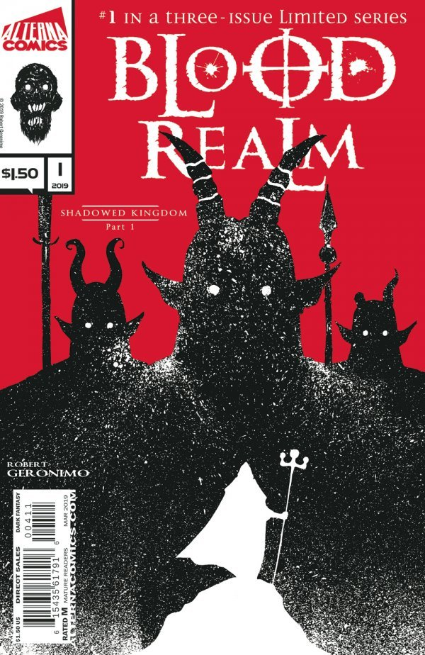 Comic Book Pull for April 3rd, 2019 BLOOD REALM #1