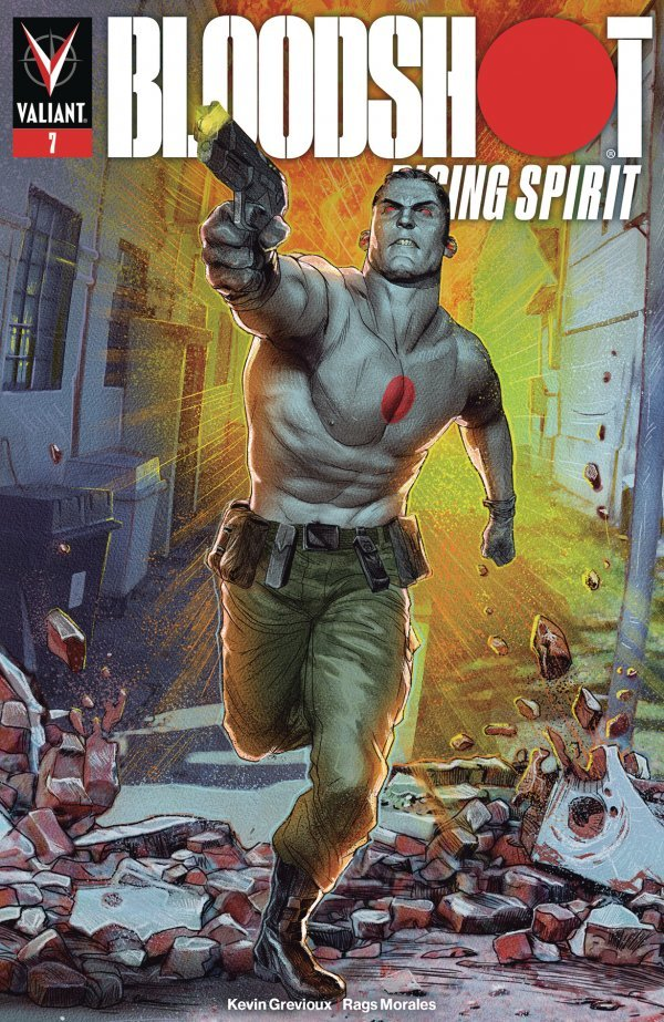 Comic Book Pull for May 29th, 2019 BLOODSHOT RISING SPIRIT #7