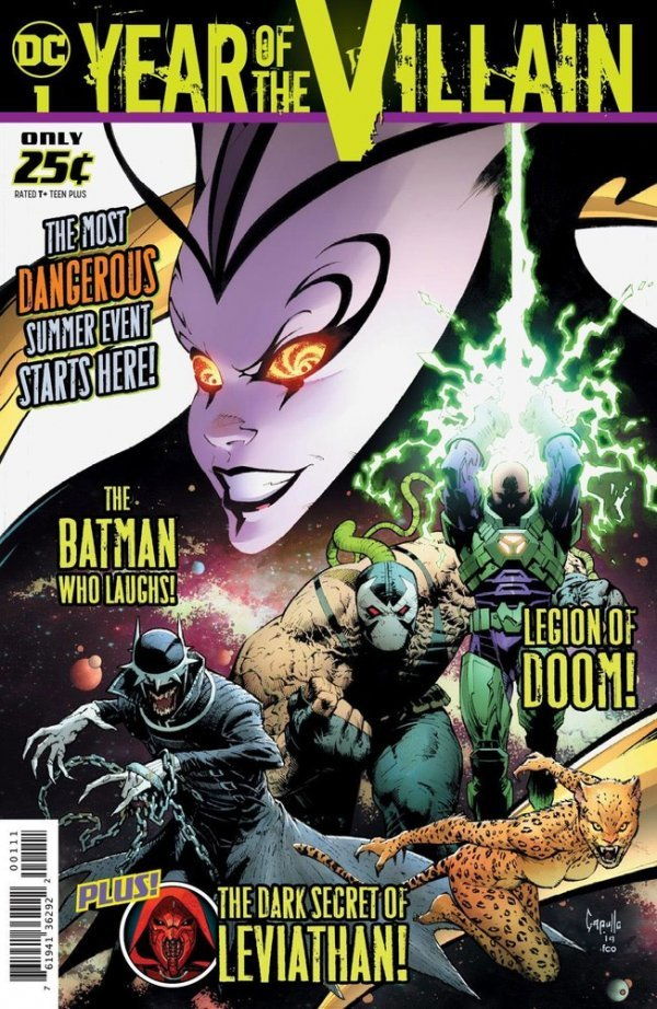 Comic Book Review for May 1st, 2019 DC'S YEAR OF THE VILLAIN #1