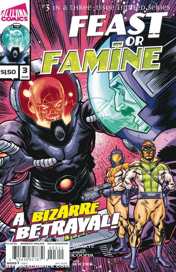 Comic Book Pull for April 3rd, 2019 FEAST OR FAMINE #3
