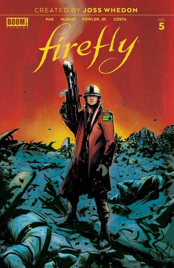Comic Review for week of April 24th, 2019 FIREFLY #5