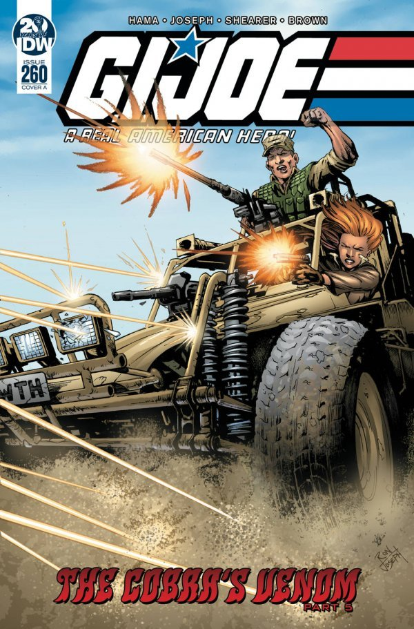 Comic Book Pull for April 3rd, 2019 G.I. JOE A REAL AMERICAN HERO #260