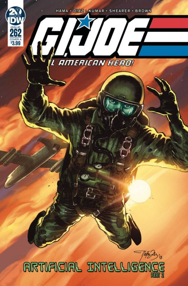 Comic Book Pull for May 22th, 2019 G.I. JOE A REAL AMERICAN HERO #262