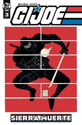 G.I. JOE SIERRA MUERTE 3 329x500 Comic Review for week of April 24th, 2019