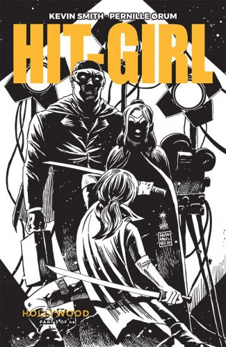 HIT GIRL SEASON TWO 3 COVER B BW FRANCAVILLA 325x500 Comic Pull For April 10th, 2019