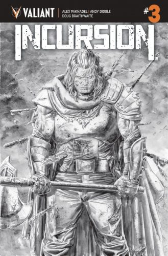 INCURSION 3 COVER C BW BRAITHWAITE 329x500 Comic Pull for April 17th, 2019