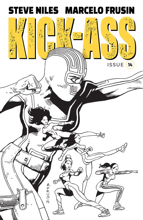 Comic Book Pull for May 15th, 2019 KICK-ASS #14 COVER B FRUSIN