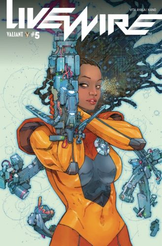 LIVEWIRE 5 329x500 Comic Pull For April 10th, 2019
