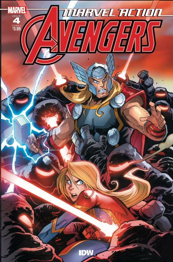 Comic Book Review for May 1st, 2019 MARVEL ACTION AVENGERS #4