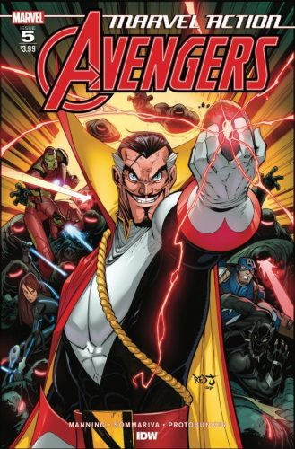 MARVEL ACTION AVENGERS 5 329x500 Comic Book Pulls for June 5th, 2019