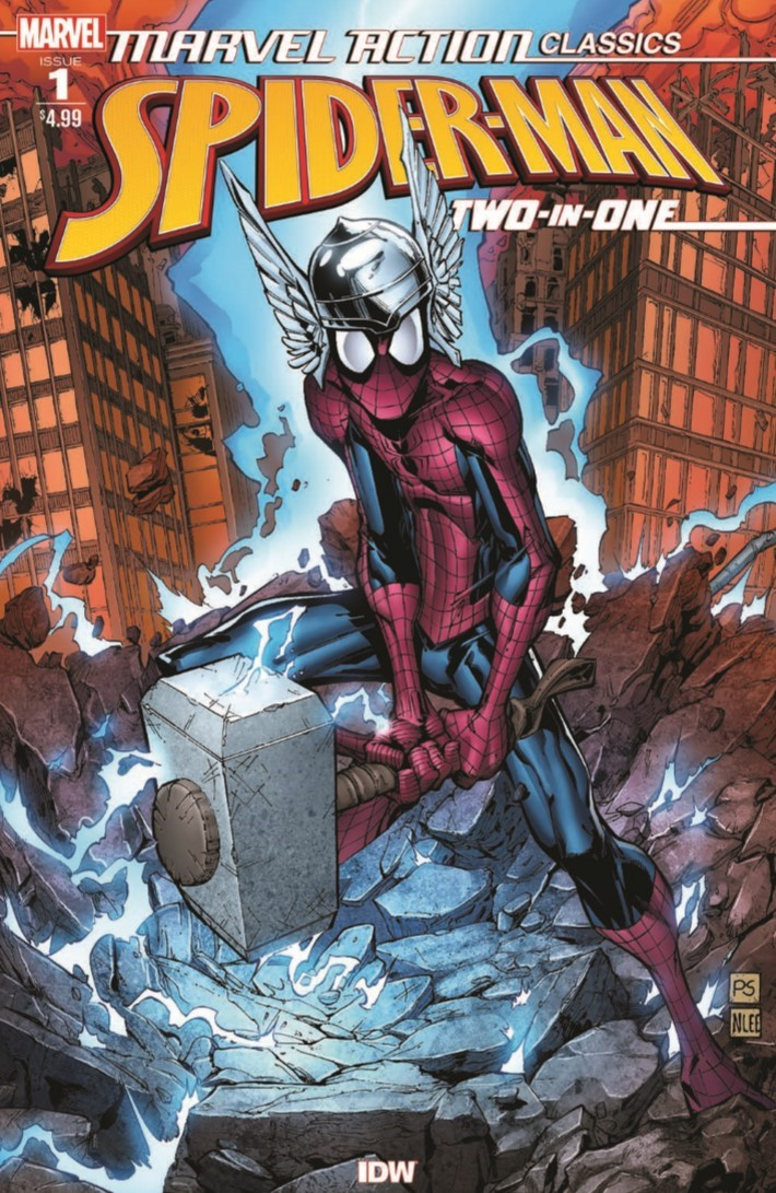 Comic Book Pull for May 29th, 2019 MARVEL ACTION CLASSICS SPIDER-MAN TWO IN ONE #1
