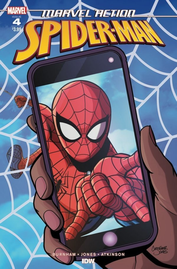 Comic Book Pull for May 15th, 2019 MARVEL ACTION SPIDER-MAN #4