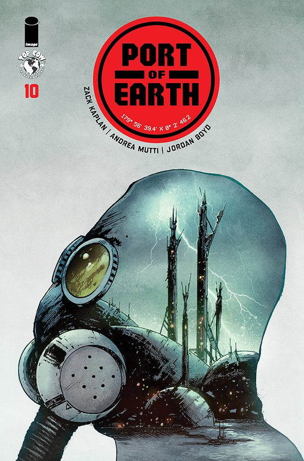 Comic Book Pull for May 15th, 2019 PORT OF EARTH #10