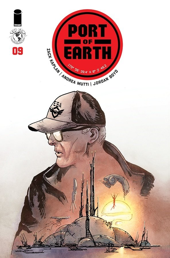 Comic Pull for April 17th, 2019 PORT OF EARTH #9
