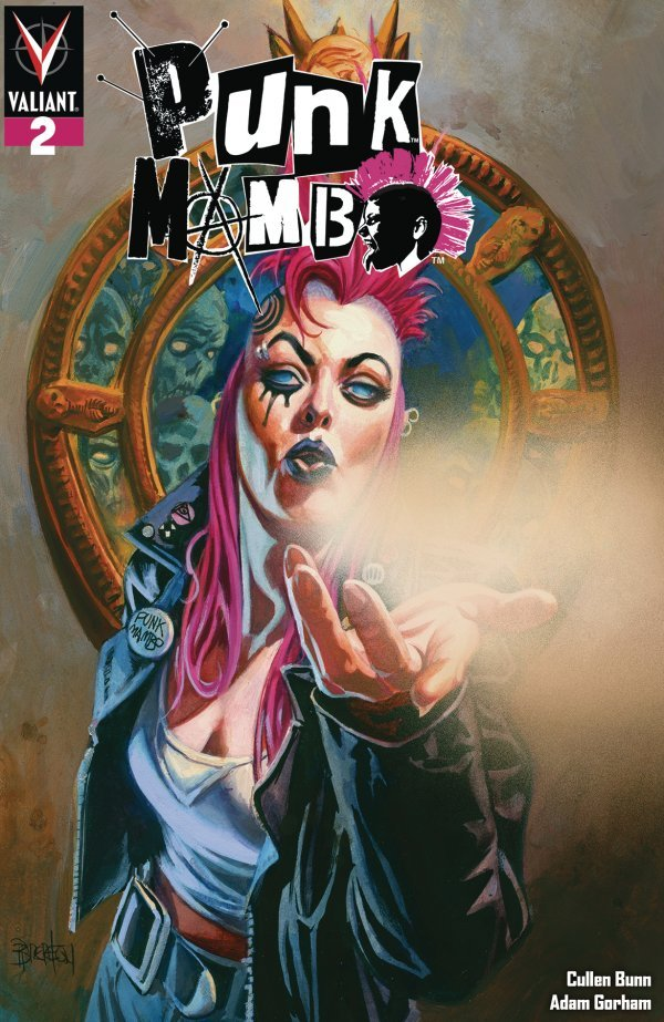 Comic Book Pull for May 29th, 2019 PUNK MAMBO #2