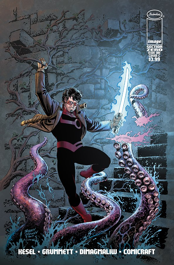 Comic Book Pull for April 3rd, 2019 SECTION ZERO #1 COVER C ORDWAY