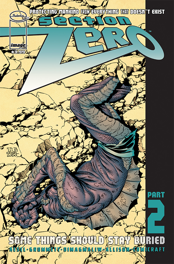 Comic Book Review for May 8th, 2019 SECTION ZERO #2