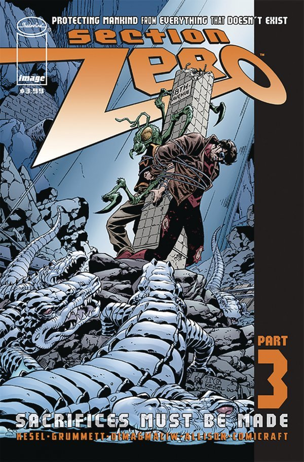 Comic Book Pulls for June 5th, 2019 SECTION ZERO #3