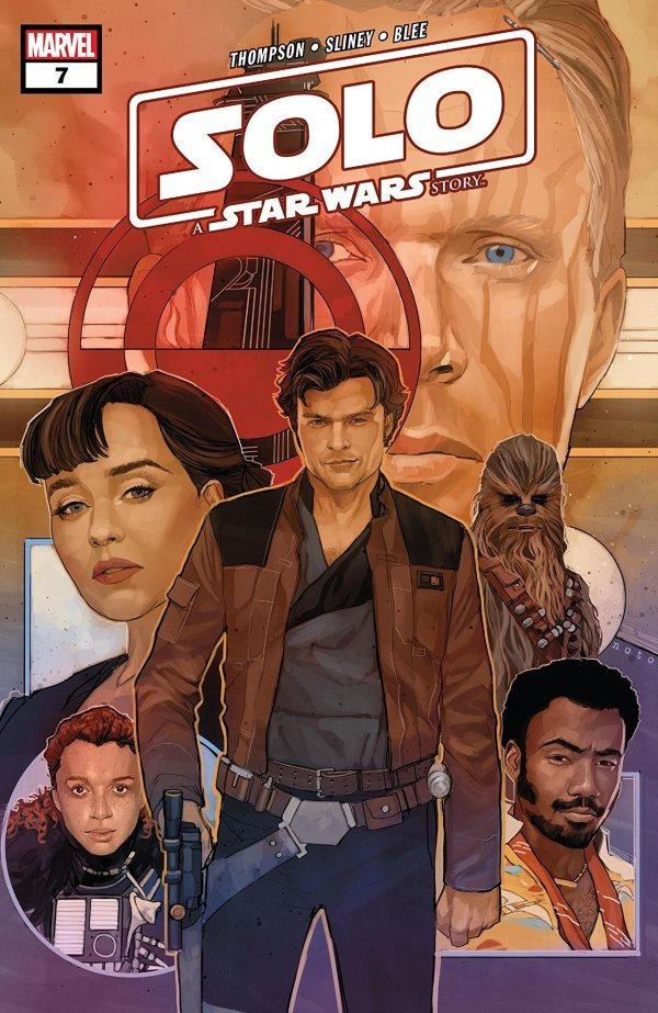 Comic Book Pull for April 3rd, 2019 SOLO A STAR WARS STORY #7