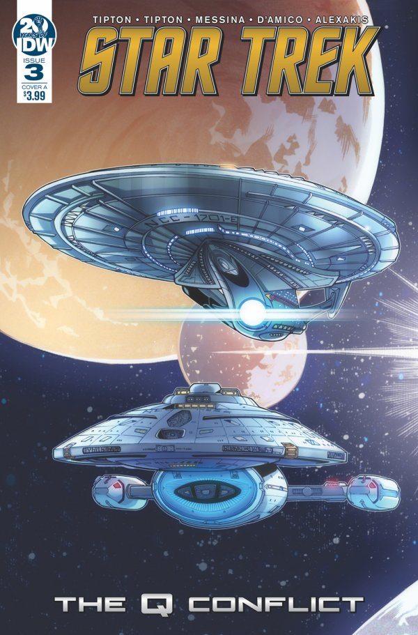 Comic Pull for April 17th, 2019 STAR TREK THE Q CONFLICT #3