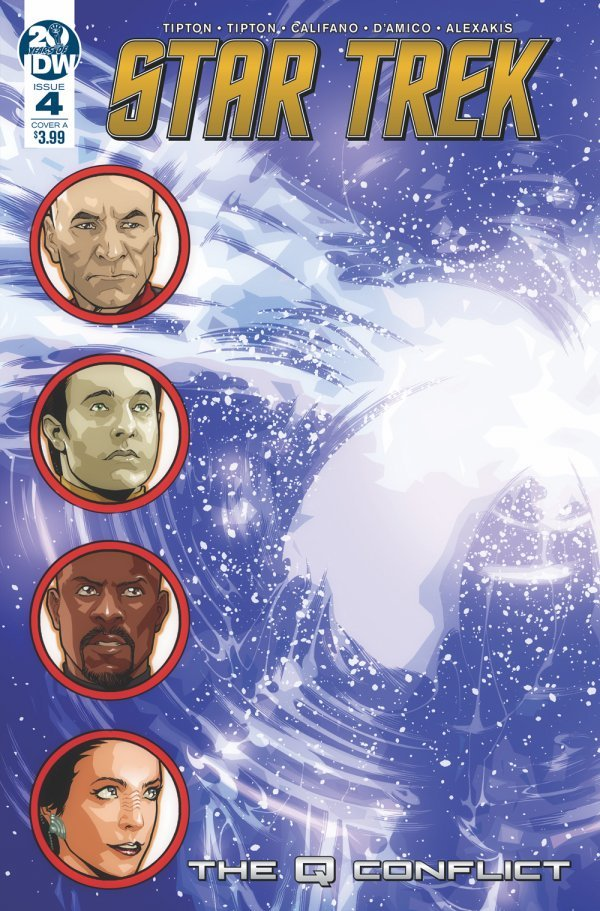 Comic Book Pull for May 22th, 2019 STAR TREK THE Q CONFLICT #4