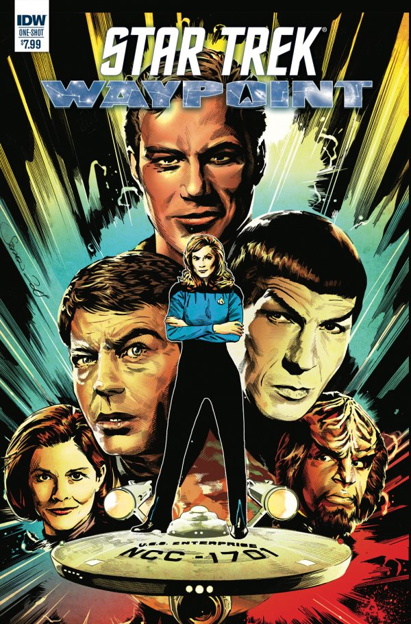 Comic Review for week of April 24th, 2019 STAR TREK WAYPOINT SPECIAL 2019 #1