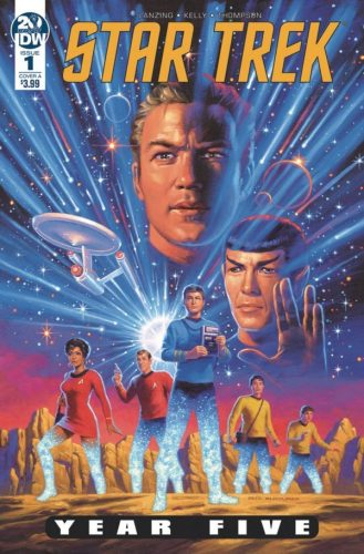 STAR TREK YEAR FIVE 1 329x500 Comic Review for week of April 24th, 2019